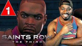 Saints Row 3 The Third Gameplay Walkthrough Part 1 - CREATING ICE CUBE - Lets Play