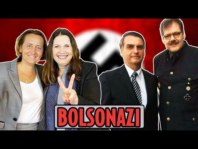 Bolsonaro e Kicis recebem amigos do Adolfinho   Galãs Feios