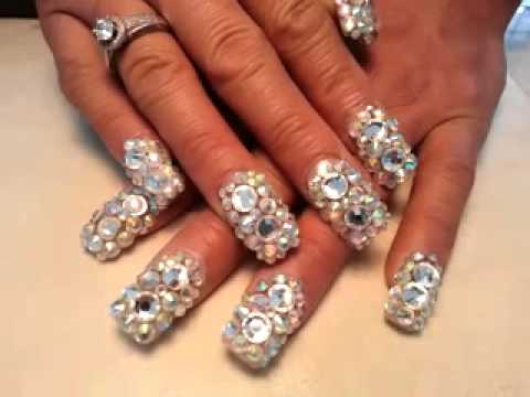 Beautiful nail bling bling check it out youtube prinsesfo Gallery