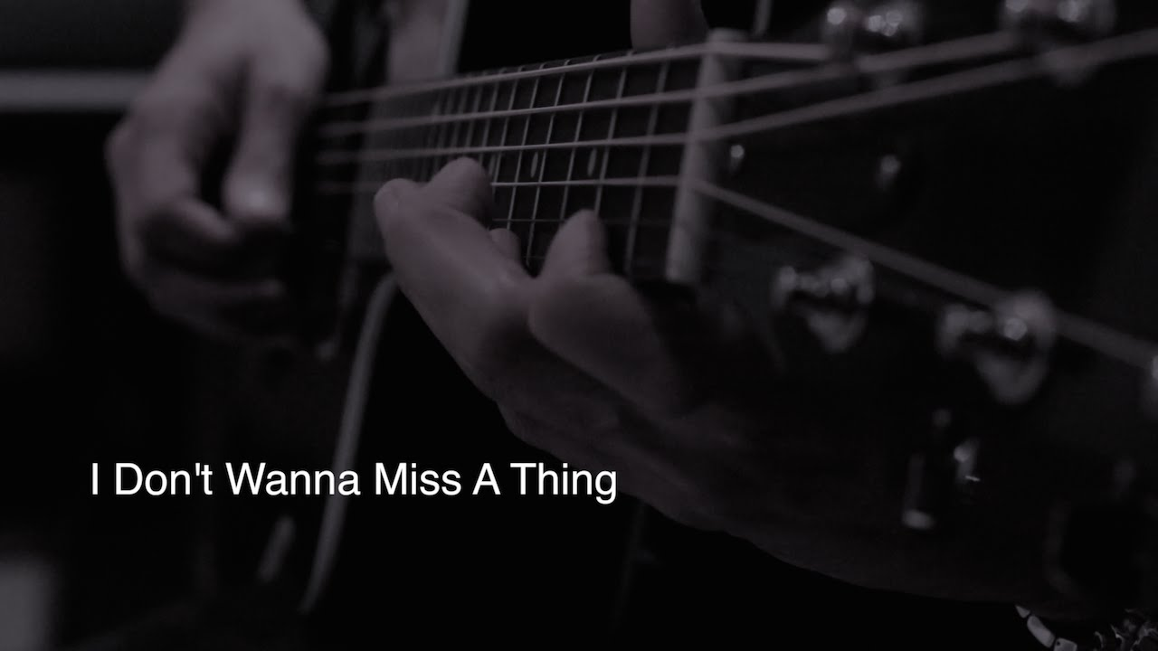I DONT WANT TO MISS A THING CHORDS by Aerosmith @ …