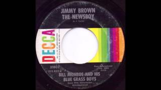 Watch Bill Monroe Jimmy Brown The Newsboy video