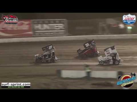 California Lightning Sprints at Bakersfield Speedway - 4/30/16