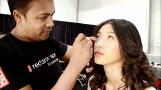 Emerson Backstage Make up Red Door Elizabeth Arden MBFW NY 2012 Anastasia Lambrou Thumbnail