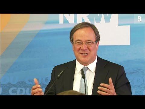 NRW-Wahl: CDU siegt, SPD stürzt ab