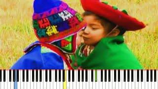 Video ALPAQUITAY - Pata Amarilla / Instrumental / Synthesia Tutorial download MP3, 3GP, MP4, WEBM, AVI, FLV Agustus 2018