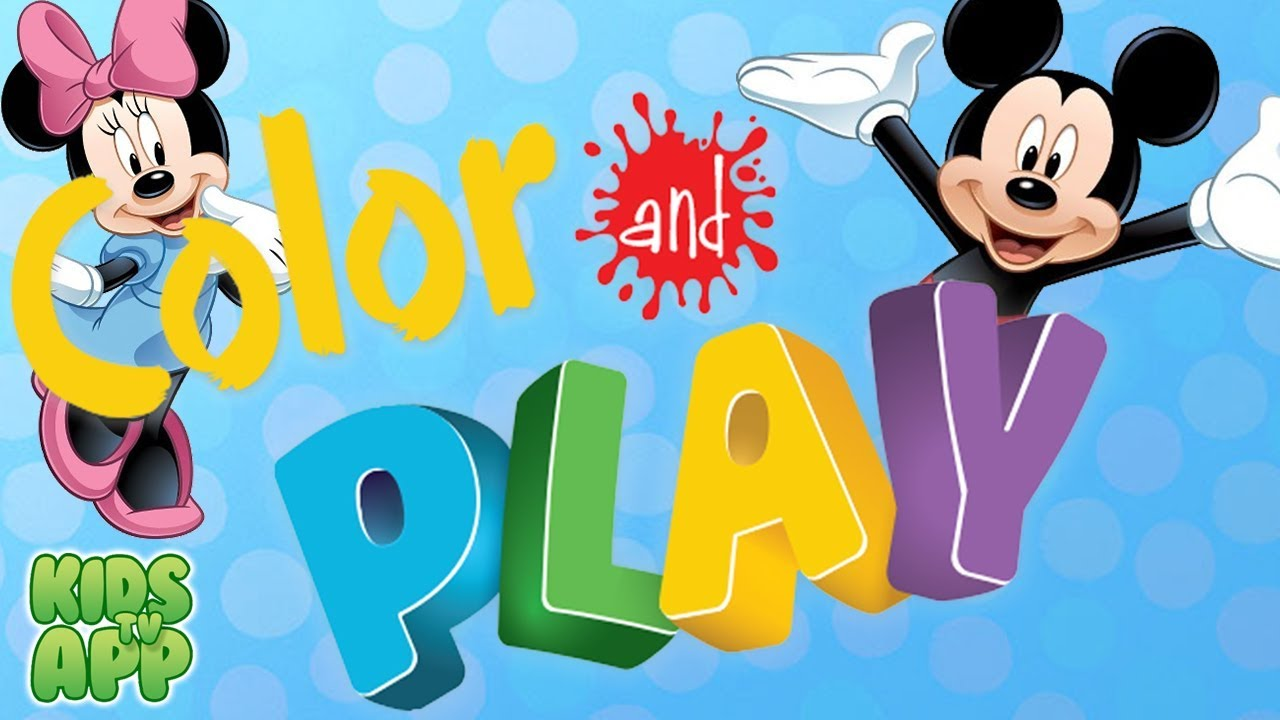 Disney Coloring Pages App : Disney color and play disney best app for kids youtube