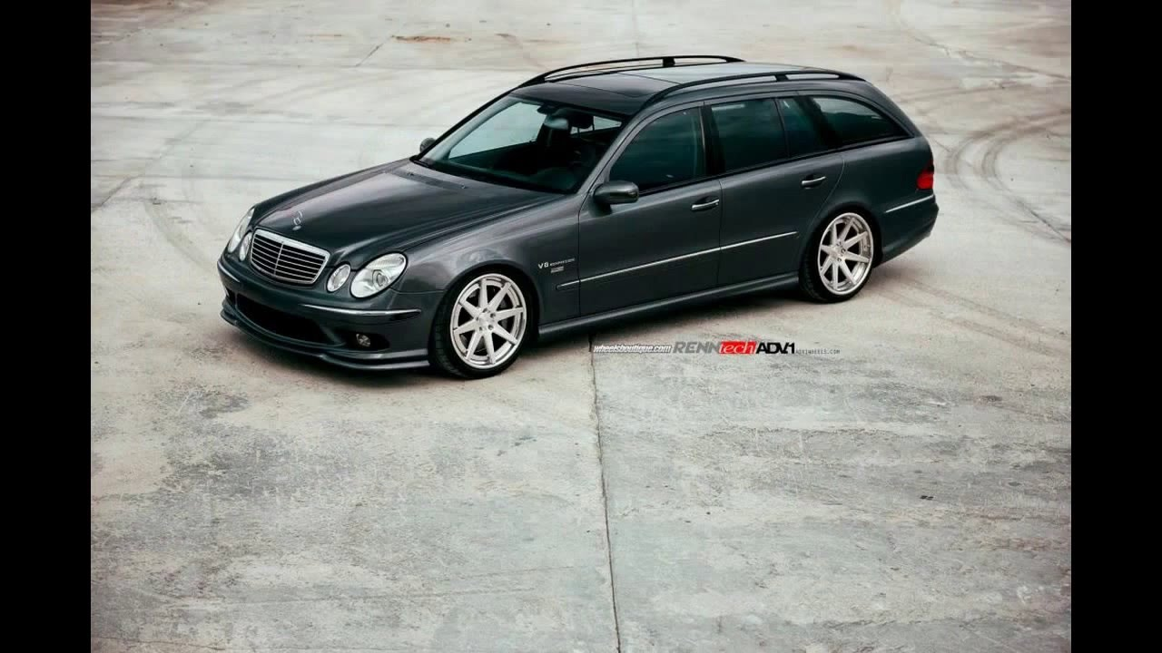 Mercedes benz e55 amg wagon doovi for Mercedes benz e55 amg wagon for sale