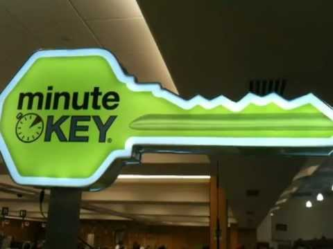minute KEY - Credit Card Operated Automated Key Duplication Vending Machine