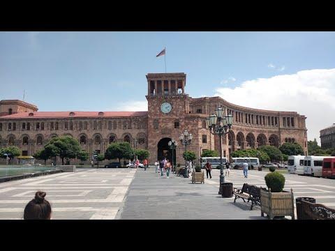 Strolling REPUBLIC SQUARE Yerevan Armenia   Unfiltered Travels