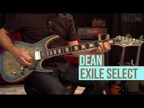 Dean Exile Select Burled Poplar - Demo