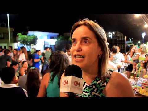 Circulando com César Morais no aniversário de Aline Vieira