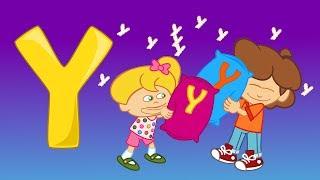 Y Harfi - ABC Alfabe SEVİMLİ DOSTLAR Eğitici Çizgi Film Çocuk Şarkıları Videoları