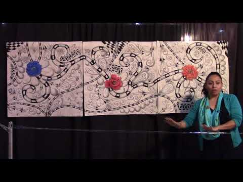Go Tell It at the Quilt Show! interview with Marisela Rumberg