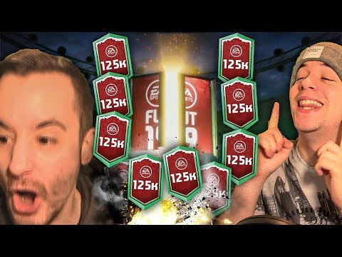 OPENING ULTIMATE 125K PACKS!!! 90 RATED WALKOUT!! FIFA 19 ULTIMATE TEAM PACK OPENING thumbnail