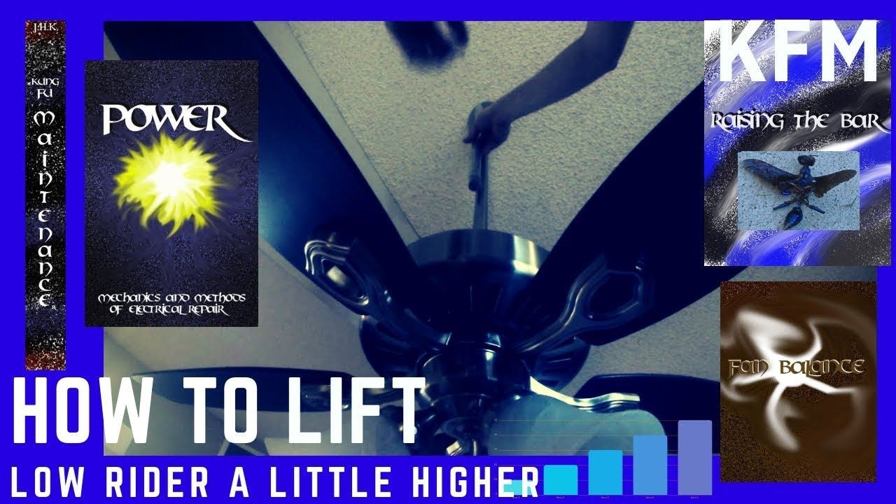 Ceiling Fan Too Low How To Raise Rider A Little Higher Downrod Change Out
