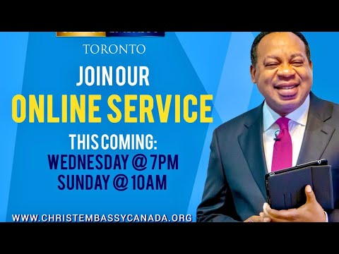 Christ Embassy Toronto Canada Service, Wednesday, August 26th, 2020
