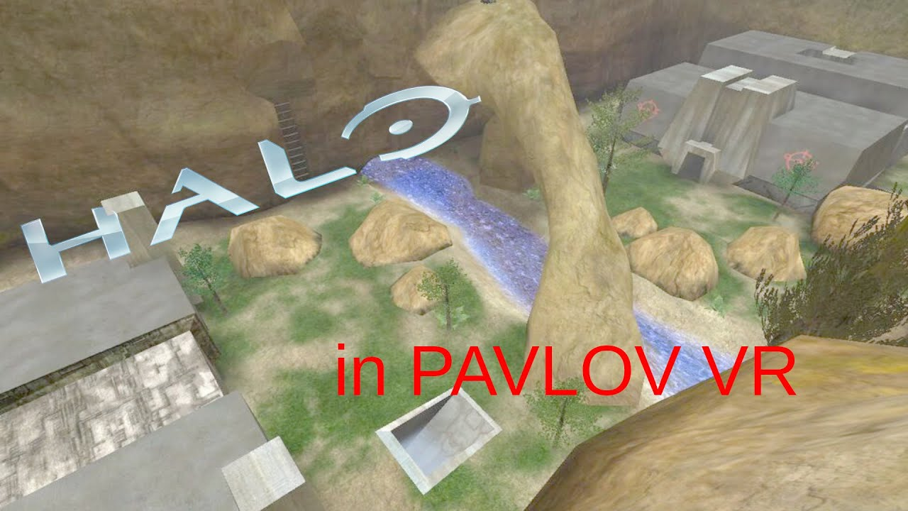 Halo maps in Pavlov VR