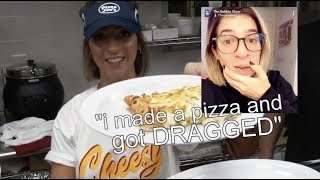 gabbie wants to leave youtube because of MASSIVE hate over a pizza...