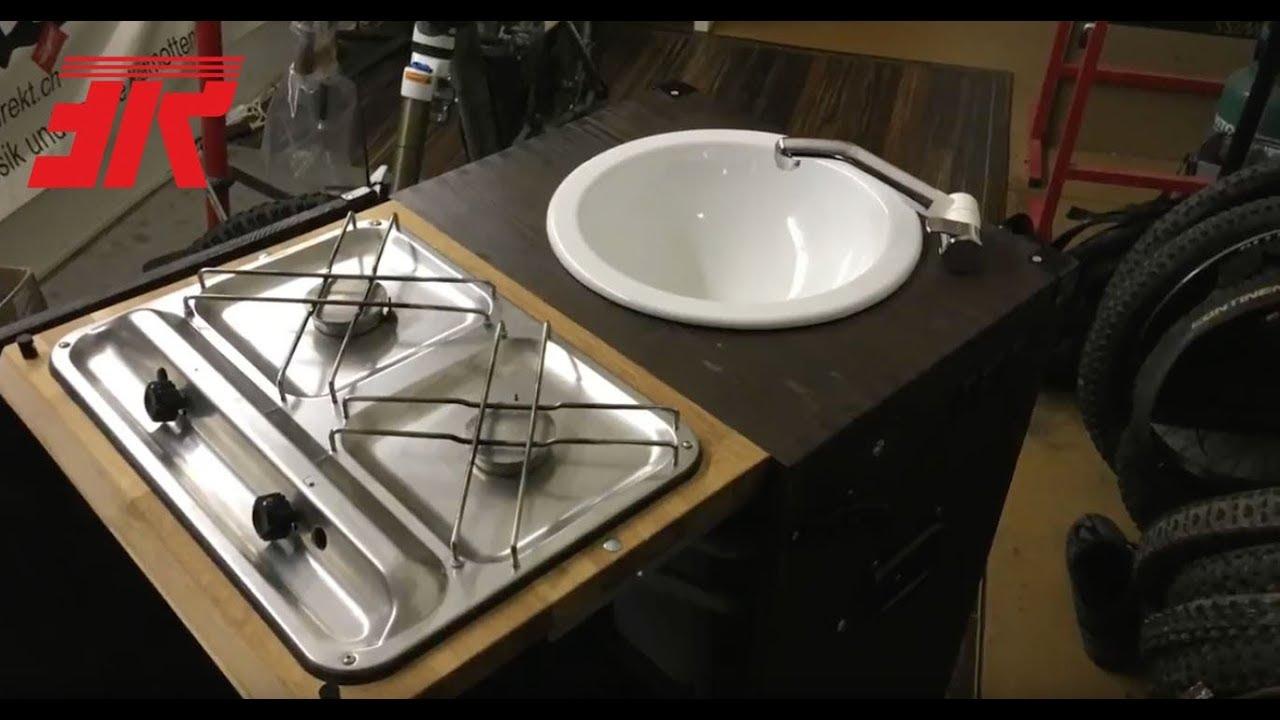 mobile k che f r vw t5 1 rag alla bolognese youtube. Black Bedroom Furniture Sets. Home Design Ideas