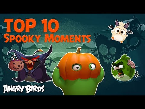 Angry Birds - Top 10 Spooky Moments | Halloween Special