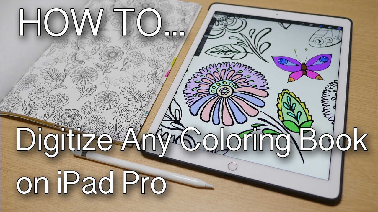 IPad Painting Coloring Books