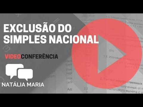 Exclusão do Simples Nacional - Natália Maria