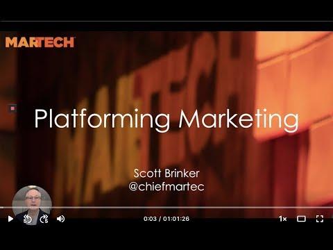 MarTech East 2019 Keynote: Platforming Marketing