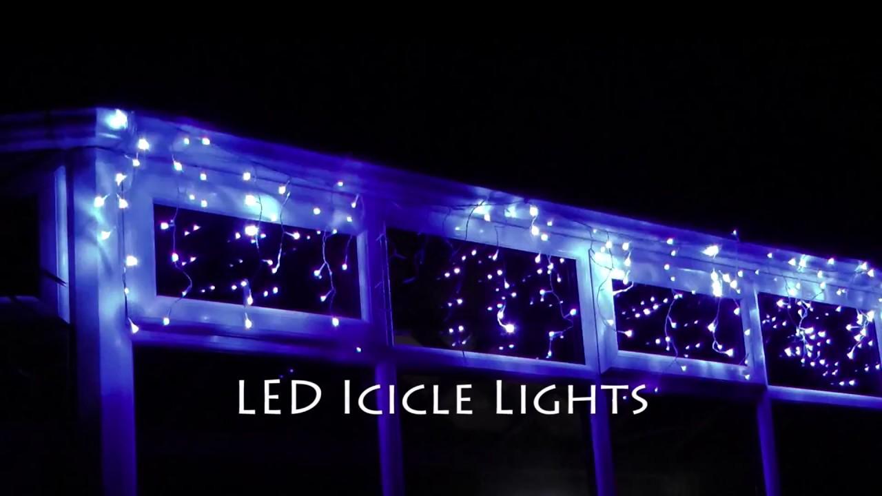christmas icicle lights - Led Christmas Icicle Lights
