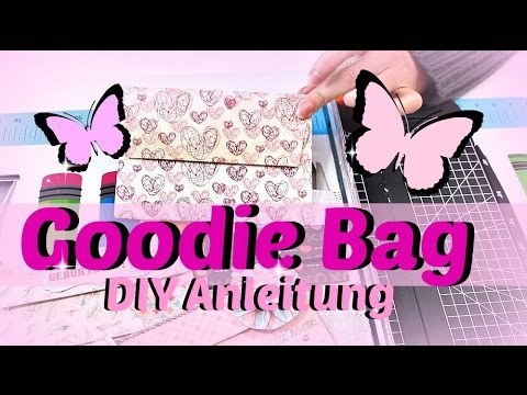BASTELN MIT PAPIER  Wie bastelt man ein GOODIE BAG?  DIY Anleitung  Gutscheinverpackung