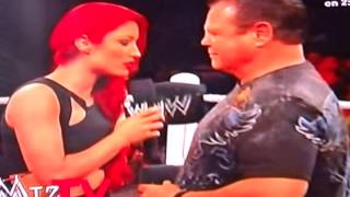 JERRY THEY KING LAWLER GETS SLAPPED BY EVA MARI