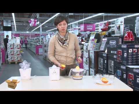 TEST.TV:Соковыжималки для цитрусовых.  Три модели, один вкус, разная цена.