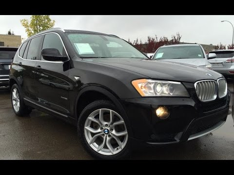 pre owned black 2013 bmw x3 awd 28i in depth review lloydminster alberta youtube. Black Bedroom Furniture Sets. Home Design Ideas