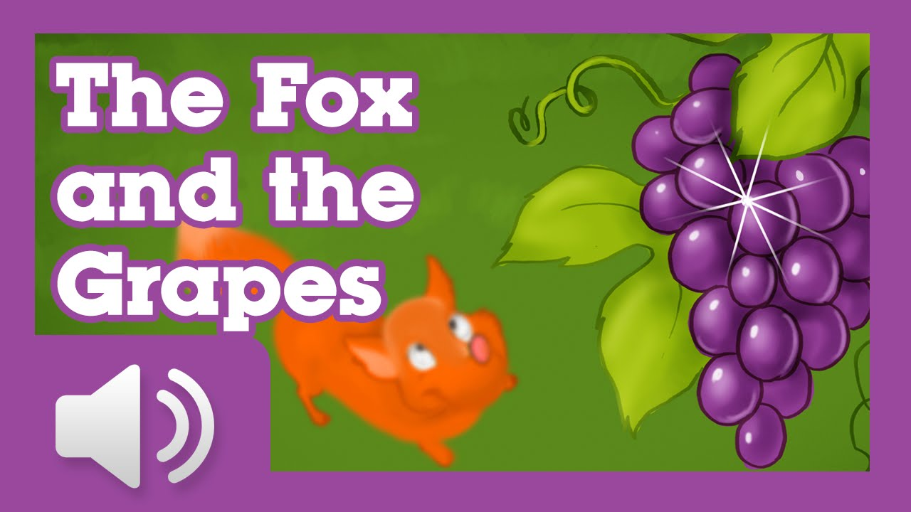 The Fox and The Grapes - Children Story by Tales with GiGi