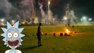 July 5th Fireworks @ Firecracker Alley final part4 *ABSOLUTE WARZONE*