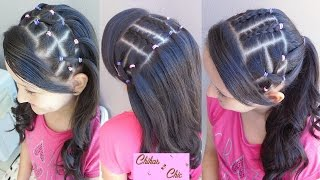 Elastic Band Hairstyles (Part 1) | Sport Hairstyles | Cute Girly Hairstyles