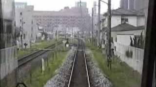 仙石線にグラシア(こがね)入線 1999.8
