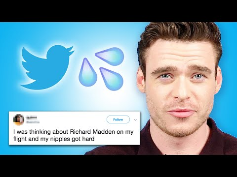 Richard Madden Reads Thirst Tweets