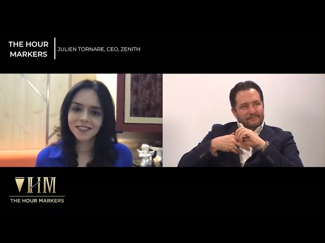 The Hour Markers - In Conversation with Julien Tornare, CEO, ZENITH