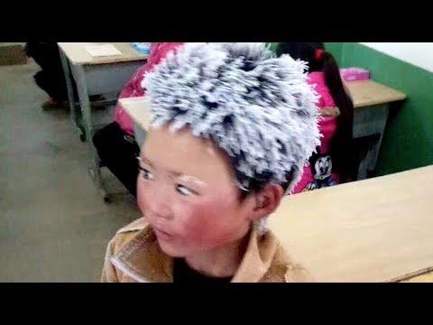 "China's ""Ice flower"" Boy Warms Netizens' Hearts"