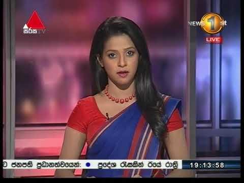 News 1st Sinhala Prime Time, Thursday, October 2017, 7PM (19-10-2017)