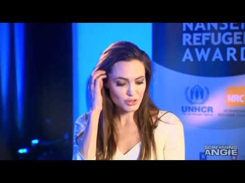 Angelina Jolie Interview 2011 - UNHCR Goodwill Ambassador: Angelina Jolie interviews with Martin Bell about her 10 years as a Goodwill Ambassador for UNHCR.