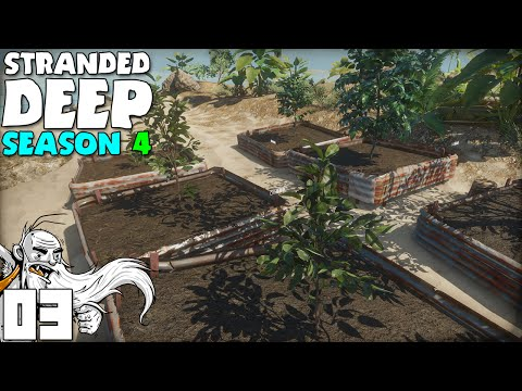 """FARMING PLOTS FOR DAYS!!!""  Stranded Deep S04 Part 3 - 1080p PC Gameplay"