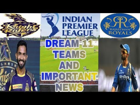 RAJ vs KOL Eliminator T20 Match Dream11 Fantasy Cricket team – IPL 2018