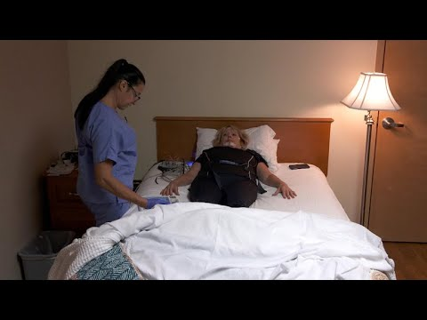 Implant device offers rest for some sleep apnea patients