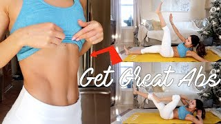 Download Video 8Min AB WORKOUT FOR DEFINED ABS | Chelsea Trevor MP3 3GP MP4