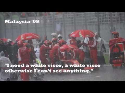 Felipe Massa BEST team radio compilation EVER!
