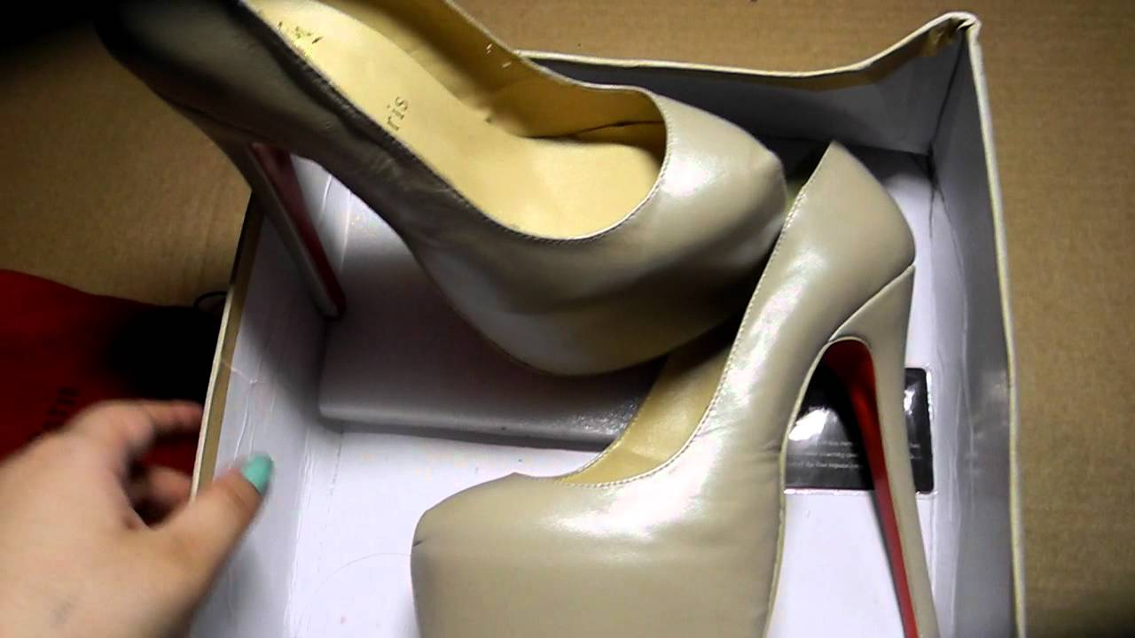 Магазин. 5 пар туфель бренда Christian Louboutin - YouTube