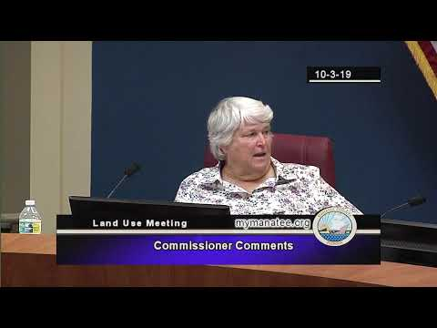 October 3, 2019 – BCC Land Use Meeting