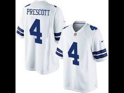 ba1985a8b9d Dak Prescott Dallas Cowboys #4 Jerseys: Cowboys Jersey: NFL Shop ...