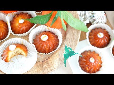 Saftige Marzipan Küchlein - Mega Leckere Marzipantörtchen Mit Mandarine Aus 5 Zutaten - Kuchenfee